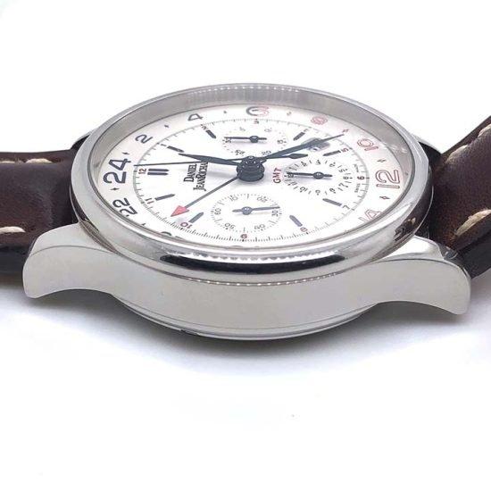 Gents steel Daniel Jean Richard - Bressel Chrono GMT Chronograph 4