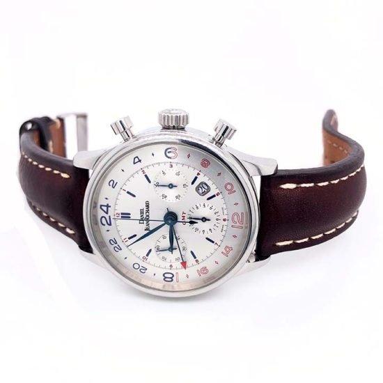 Gents steel Daniel Jean Richard - Bressel Chrono GMT Chronograph 2