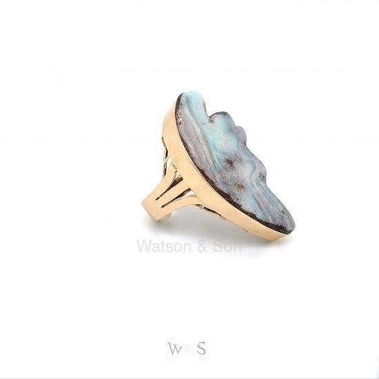 Bold Gold Opal Ring 3
