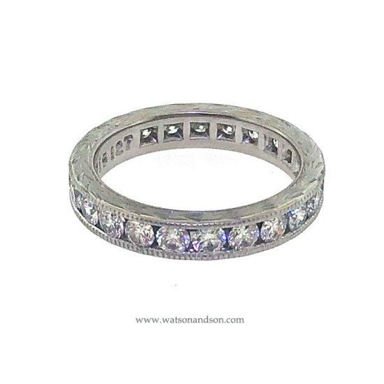 Platinum Diamond Wedding Band 4
