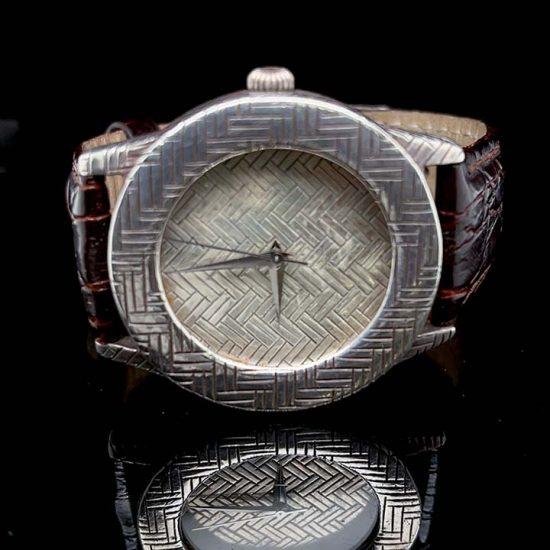John Hardy Silver Bedeg Watch 1