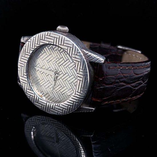 John Hardy Silver Bedeg Watch 2