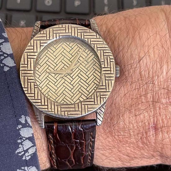 John Hardy Silver Bedeg Watch 10