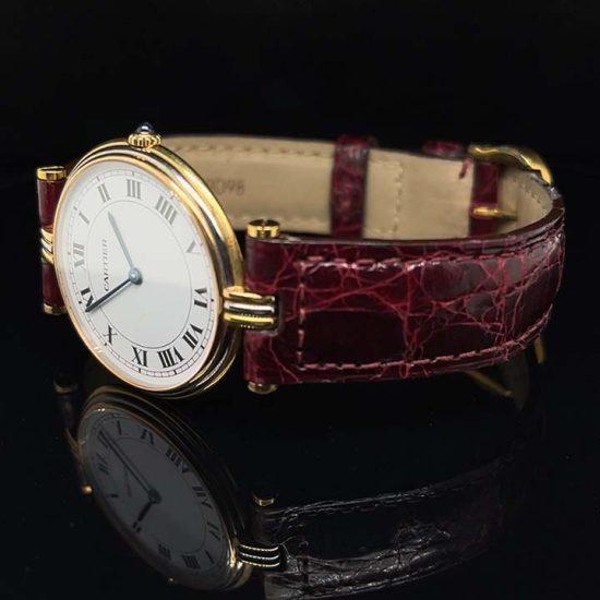 Cartier 3 Tone Vendome Unisex Watch 8988 2