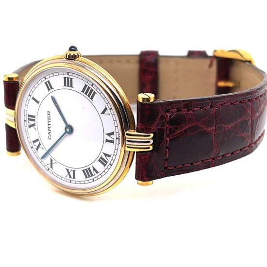Cartier 3 Tone Vendome Unisex Watch 8988 3