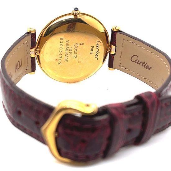 Cartier 3 Tone Vendome Unisex Watch 8988 4