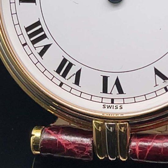 Cartier 3 Tone Vendome Unisex Watch 8988 5