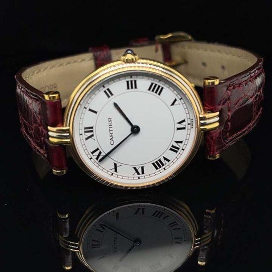 Cartier 3 Tone Vendome Unisex Watch 8988 1