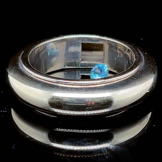 Rattle Ring In 18Kt White Gold By John Reihold 7