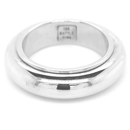 Rattle Ring In 18Kt White Gold By John Reihold 5