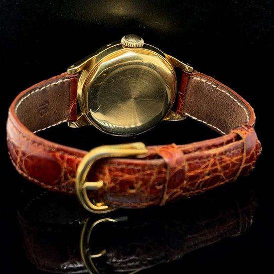 Movado Caledormatic Gold Strap Watch 6