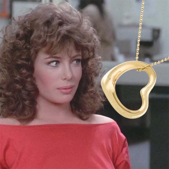 Tiffany Elsa Peretti Heart Pendant In Gold 4