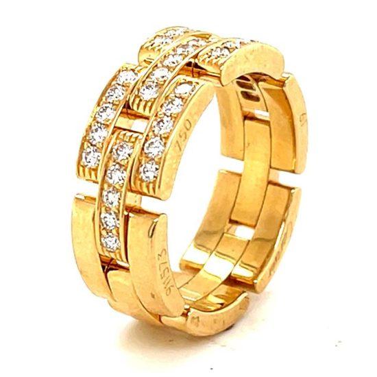 Cartier Malilon Panther Diamond Ring 2