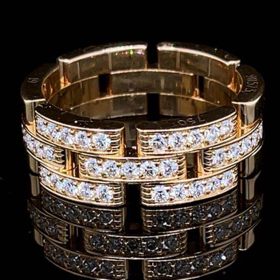 Cartier Malilon Panther Diamond Ring 3