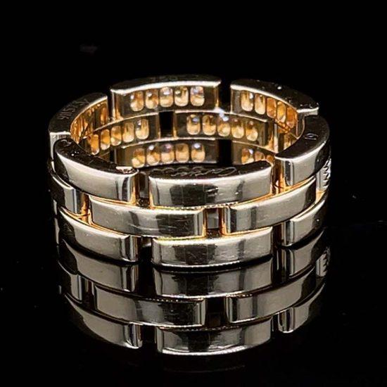 Cartier Malilon Panther Diamond Ring 4