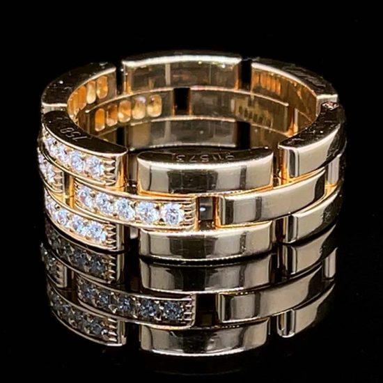 Cartier Malilon Panther Diamond Ring 5