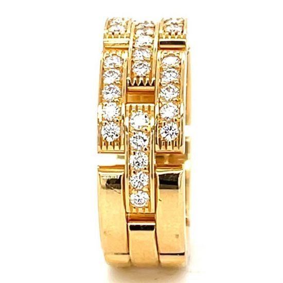 Cartier Malilon Panther Diamond Ring 7
