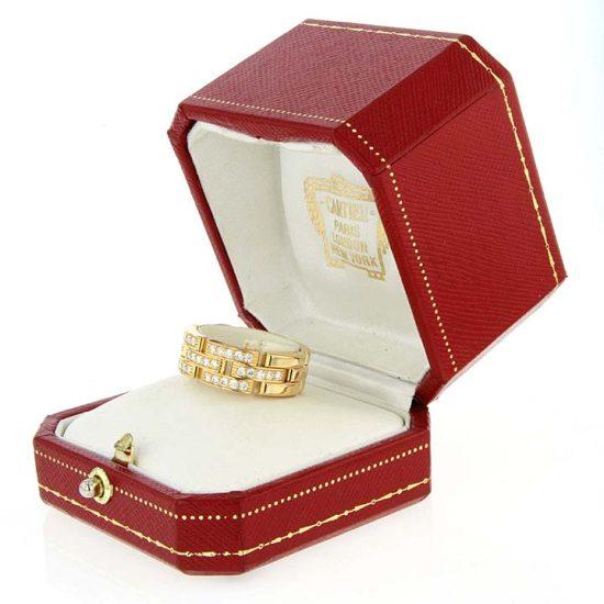 Cartier Malilon Panther Diamond Ring 9